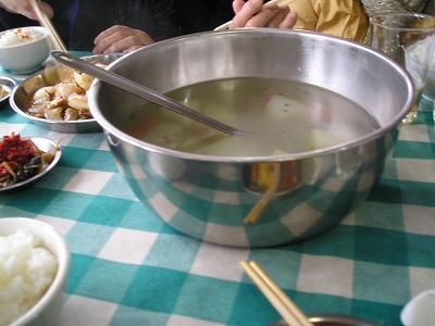 食事 冬瓜スープ